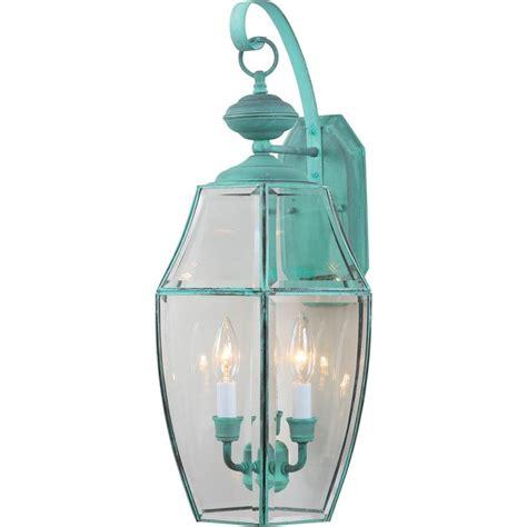 volume lighting 3 light verde green outdoor wall mount
