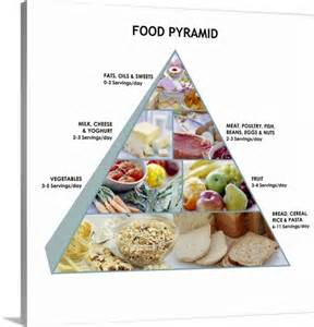 Large Printable Food Pyramid
