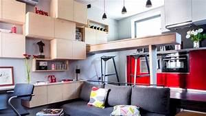 Aménagement Petit Appartement : petit appartement plans conseils am nagement ~ Nature-et-papiers.com Idées de Décoration