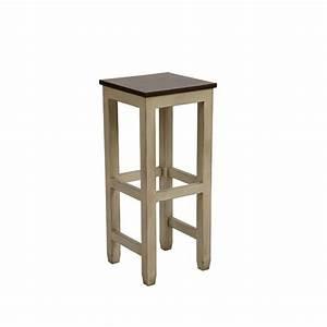 Tabouret Haut En Bois : tabouret haut assise bois beige interior 39 s ~ Teatrodelosmanantiales.com Idées de Décoration