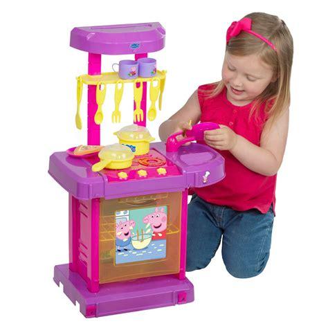 jeux de peppa pig cuisine peppa pig électronique cook aller cuisine neuf pour enfants jeu de rôles ebay