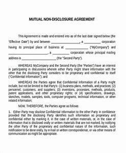 software development non disclosure agreement template With software nda template