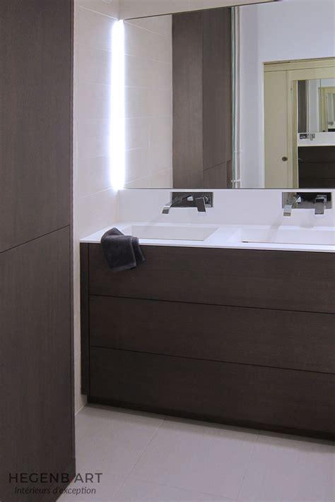 cuisine italienne design meuble salle de bain chêne teinté gris hegenbart