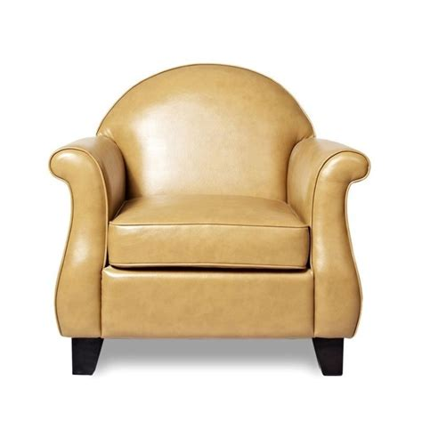 gold sparrow fresno leather arm chair in sand adc fre