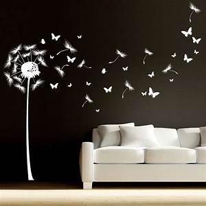 Wandtattoo Pusteblume Weiß : ber ideen zu schmetterling bilder auf pinterest schmetterlinge wanddeko ~ Frokenaadalensverden.com Haus und Dekorationen