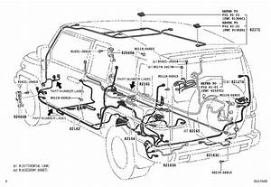 2008 Toyota Fj Cruiser Wire  Frame  Electrical  Wiring