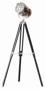 avion designer tripod accent lamp midcentury floor With avion art deco tripod floor lamp