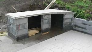 autres exemples de construction de barbecues barbecues With construction cuisine d ete