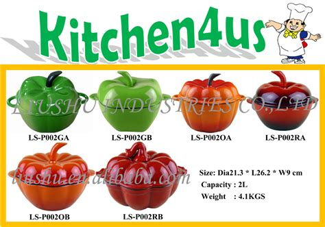 ustensiles de cuisine en fonte citrouille pepper forme ustensiles de cuisine en fonte