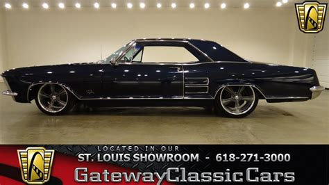 Classic Buick For Sale by 1964 Buick Riviera For Sale At Gateway Classic Cars Stock