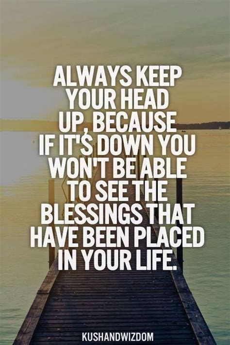 Pinterest Keep Your Head Up Quotes