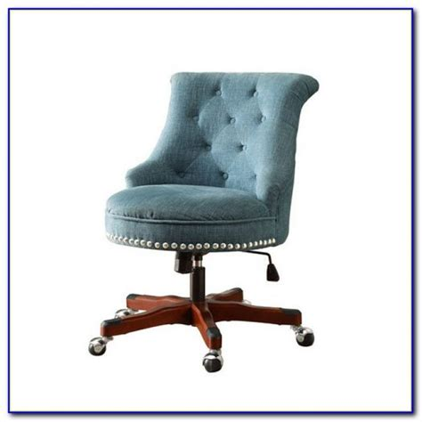 fabric tufted office chair chairs home design ideas