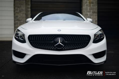 mercedes  coupe   custom forgiato  wheels trending  butler tires