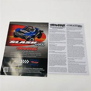 Traxxas Slash Vxl Model 58076