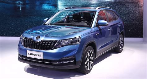 0 finanzierung auto skoda skoda kamiq drives into the beijing show with 1 5l engine carscoops