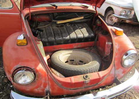 volkswagen beetle trunk in front thesamba com beetle late model super 1968 up view