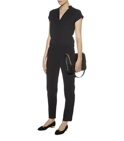 reiss jumpsuit reiss philadelphia jumpsuit in black lyst