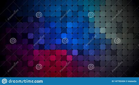 Vector Abstract Pixel Or Geometric Pattern Background