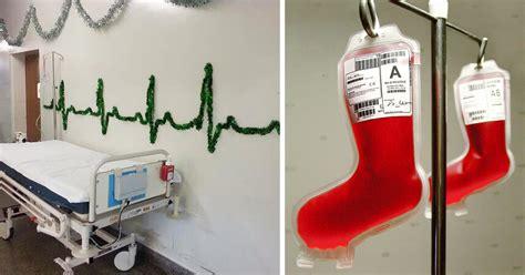 christmas decorations  creative hospital staff demilked
