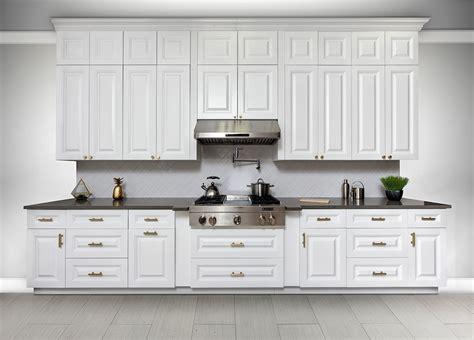 buy classic white frameless kitchen cabinets