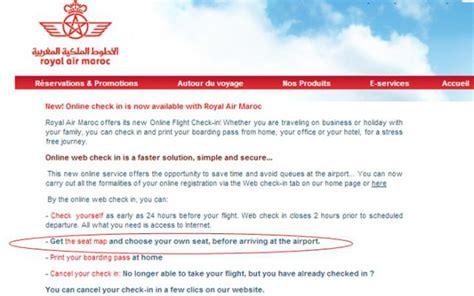 royal air maroc reservation siege crash aerien aero royal air maroc sièges