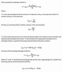 Economic Concepts: No-Arbitrage Condition and Interest ...