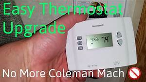 Coleman Mach Rv Thermostat Upgrade For Heater    Ac