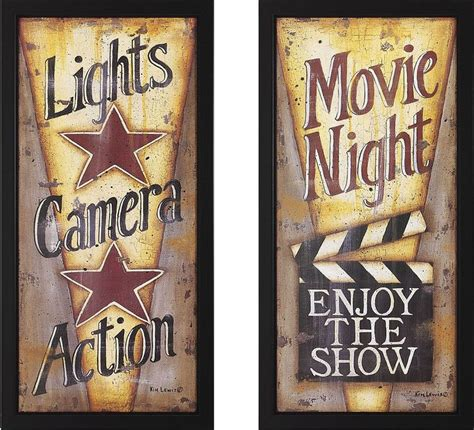 Top online home décor stores. movie night decorating ideas | Lights, Camera, Action ...