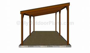 Attached carport plans Free Outdoor Plans - DIY Shed