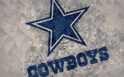 wallpapers dallas cowboys  logo geometric