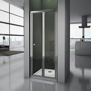 Porte De Douche Pliante : porte de douche pliante 100x185cm 4mm verre tremp porte ~ Melissatoandfro.com Idées de Décoration