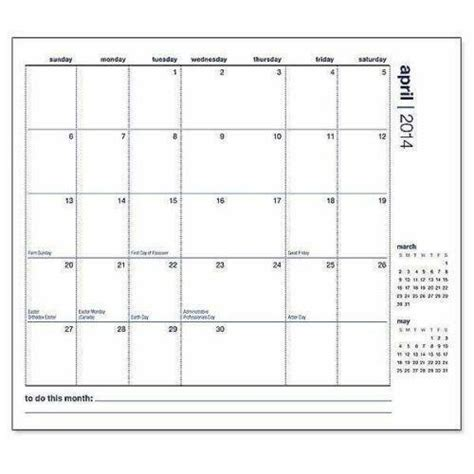 monthly pocket planner ebay