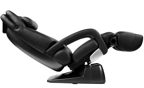 new black leather ht 7450 human touch chair