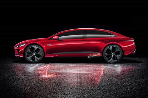 jaguar xj   reborn  high tech electric flagship