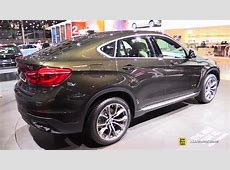 2015 BMW X6 xDrive 50i at 2014 Paris Auto Show