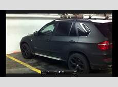Matte Black BMW X5 E70 in Montreal YouTube