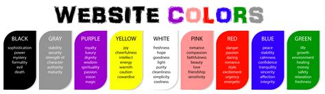 best colors for websites 7 tips for selecting the best colors for your website