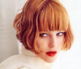 Frisuren Schulterlanges Haar Gestuft Mit Pony by Bob Haircuts With Bangs Wardrobelooks Com