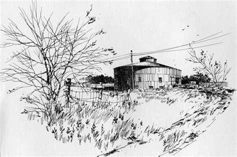 Starke Round Barn, Nebraska'a Largest Barn, Built 1902-3