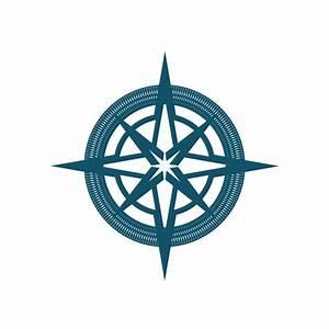 Simple Compass Rose Clip Art at Clker.com - vector clip ...