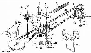 32 John Deere Lt180 Drive Belt Diagram