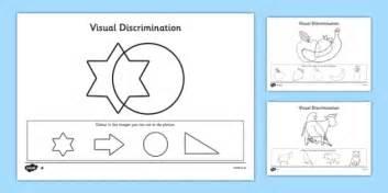 visual discrimination worksheet worksheet pack find