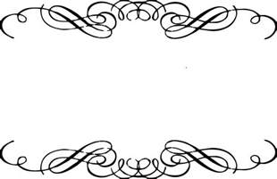 horizontal oval engagement rings free scroll clipart free clipart images clipartix