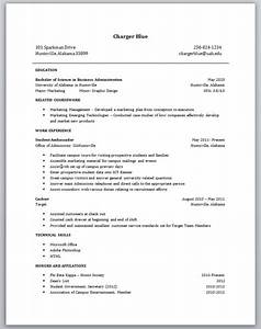No job experience required no experience resume sample for Job experience resume