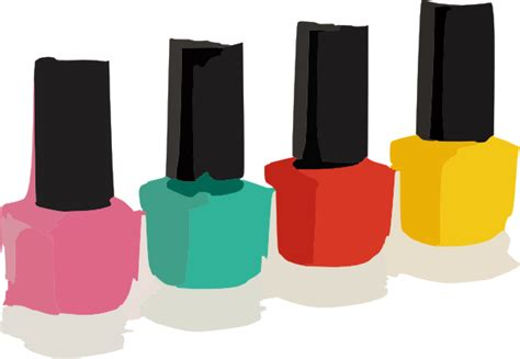 Nail Polish Colors Clip Art At Clker.com