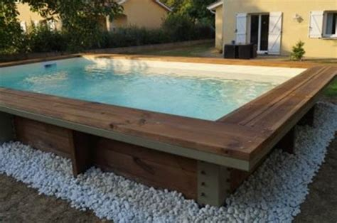 piscine bois 2m x 4m