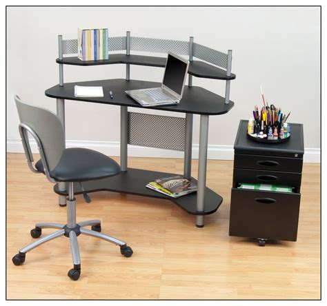 Where To Buy Computer Desks by Calico Designs Study Corner Computer Desk Silver Black