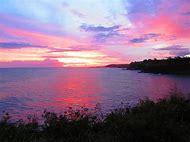 Beautiful Hawaiian Sunset Islands