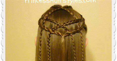 braided lattice pull  hairstyle hairstyles