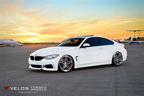Bmw 435i On Veloss1 Signature Series Forged Wheels